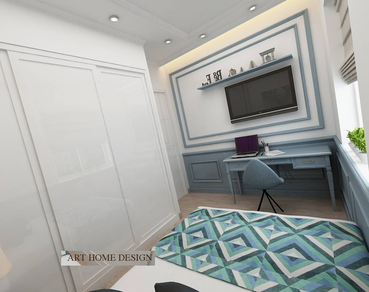 thiết kế nội thất chung cư happy valley