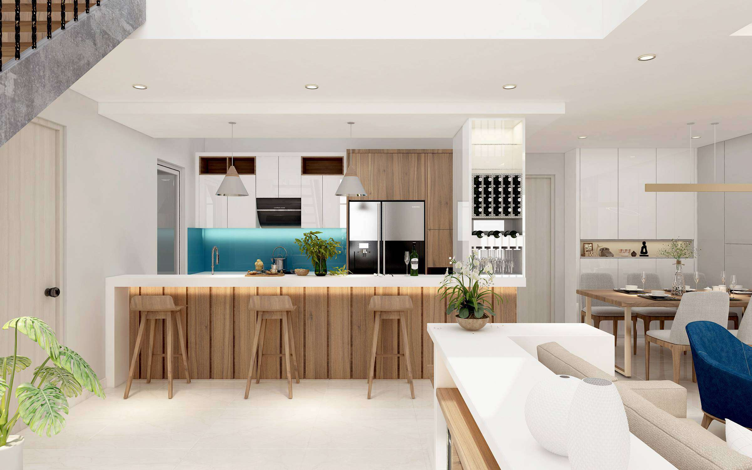 thiết kế nội thất vistaverde