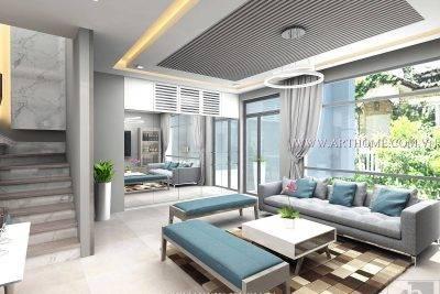 Xu hướng thiết kế nội thất biệt thự theo phong cách hiện đại