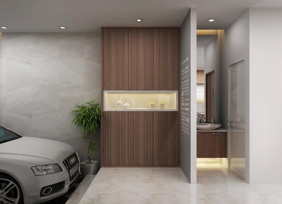 thiết kế nội thất biệt thự sông giồng