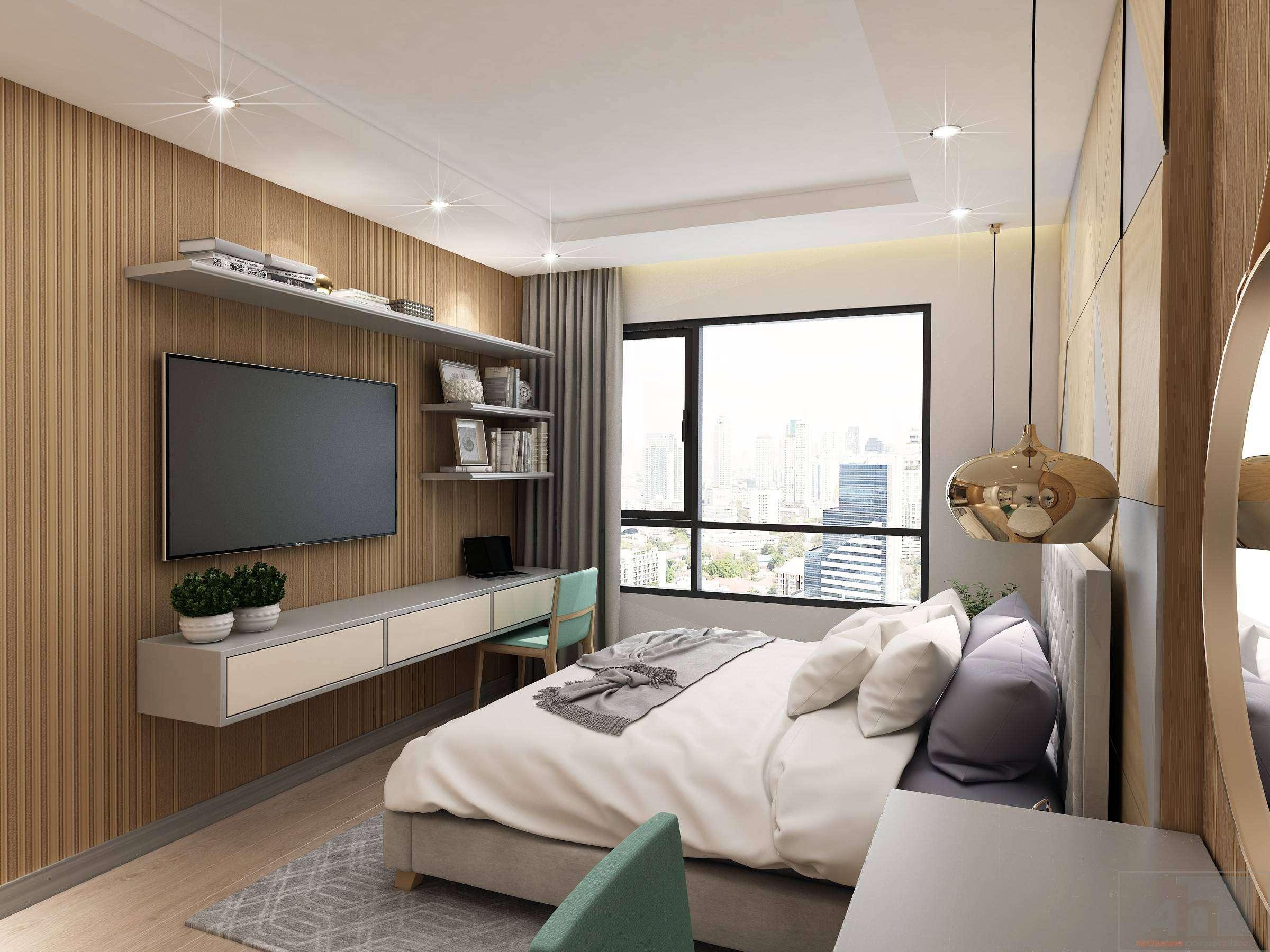 thiết kế nội thất chung cư gold view