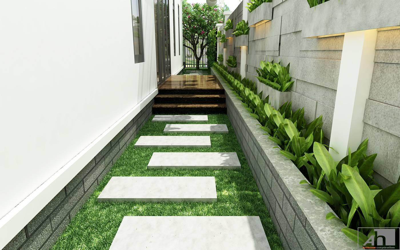 thiết kế nội thất biệt thự vườn lakeview