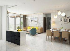 thiết kế nội thất chung cư vinhomes 150m2