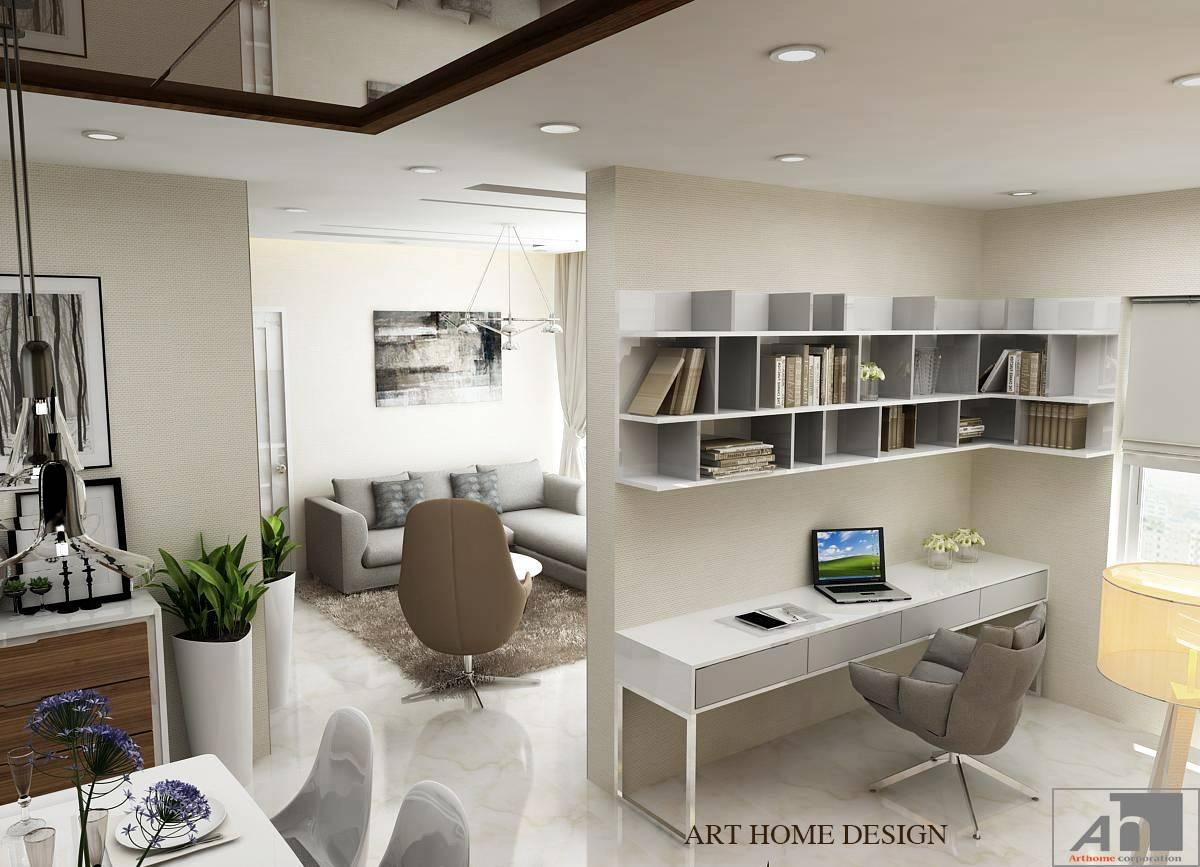 thiết kế nội thất căn hộ 87m2