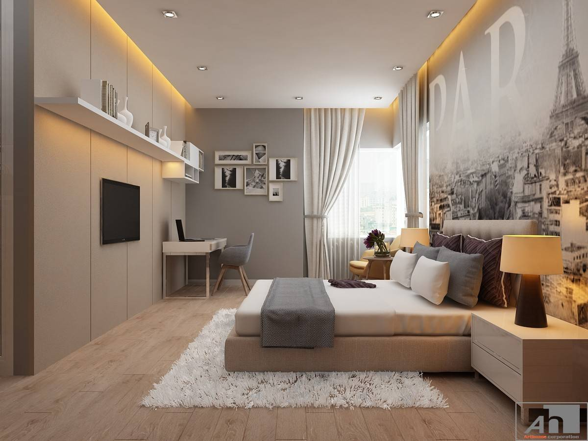 thiết kế nội thất sunrise city