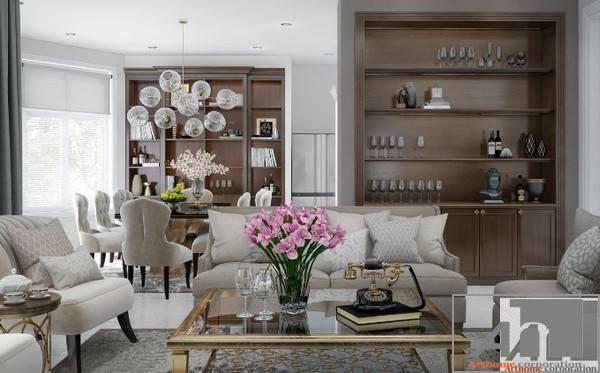 5 nguyên tắc vàng trong thiết kế nội thất biệt thự