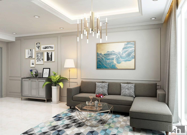 thiết kế nội thất căn hộ 150m2