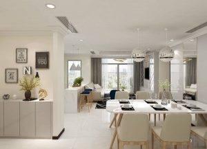 thiết kế nội thất chung cư landmark 5