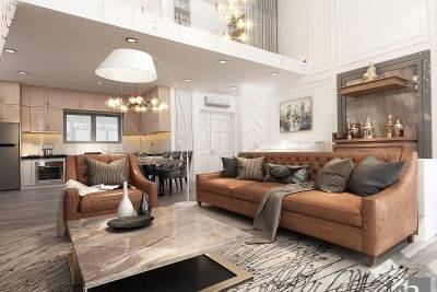 Anh Tùng căn hộ Duplex bán cổ điển 250m2