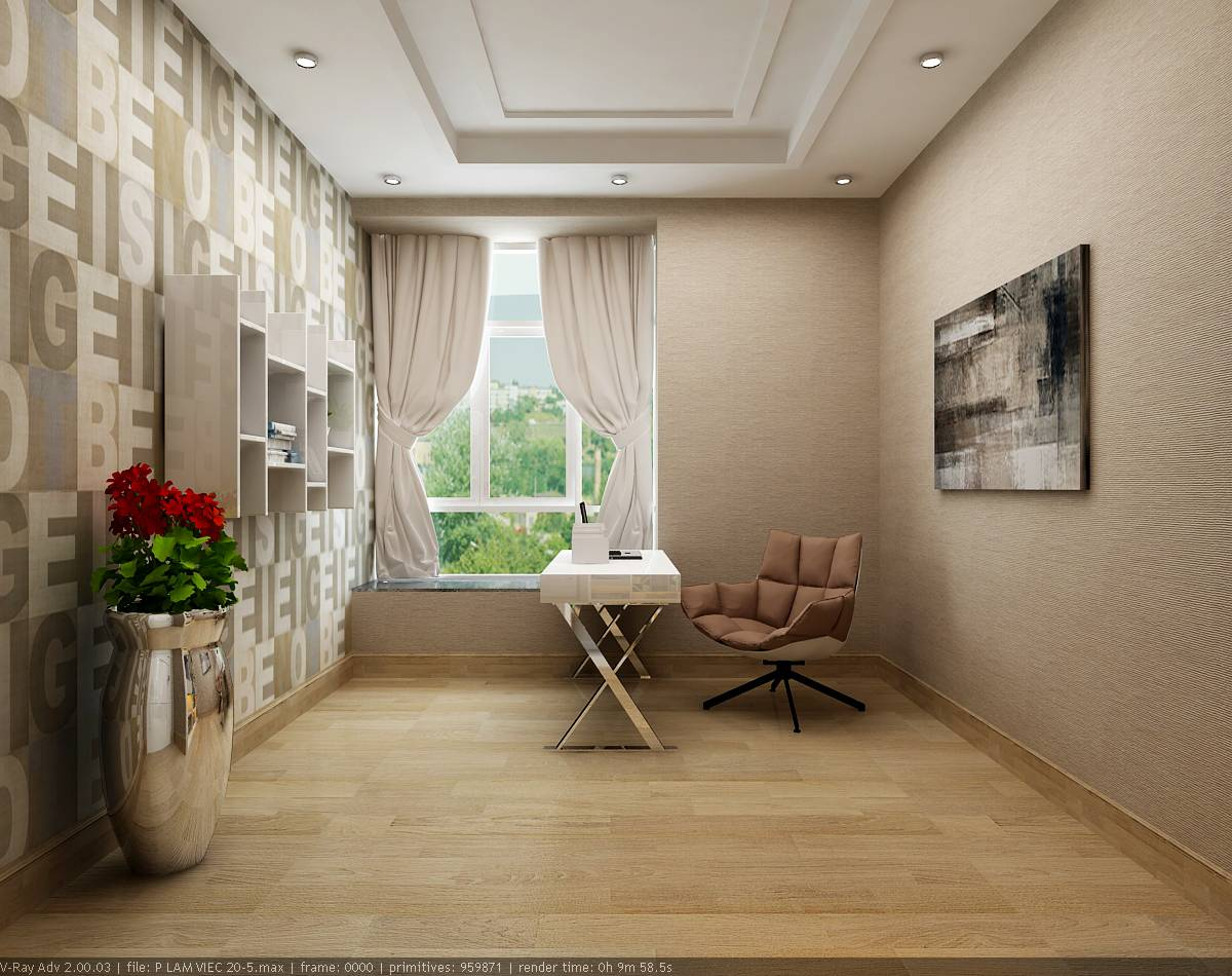 thiết kế nội thất nhà mẫu