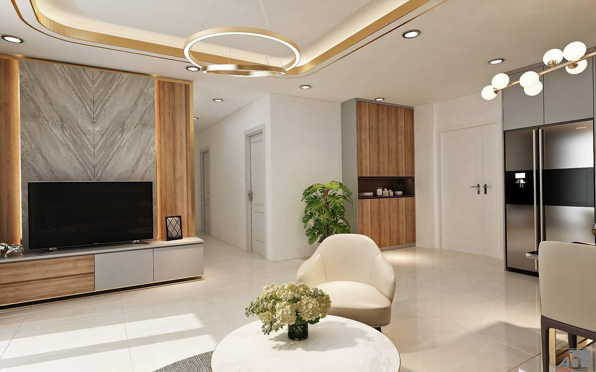 thiết kế nội thất Millennium Q4