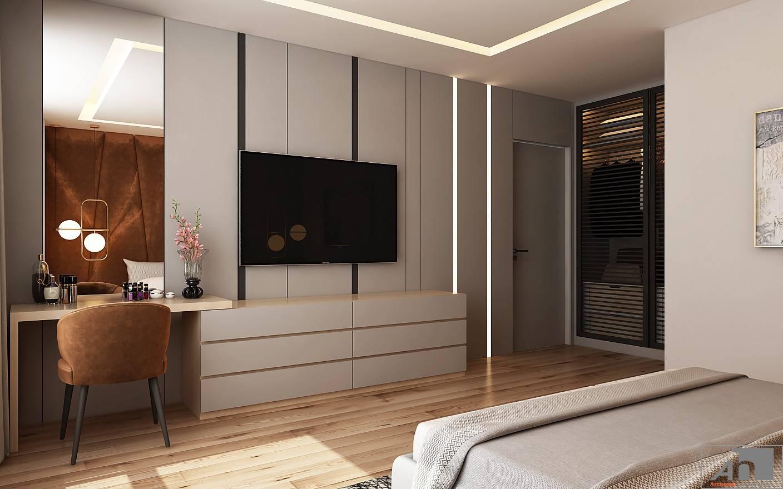 thiết kế nội thất căn hộ 115m2