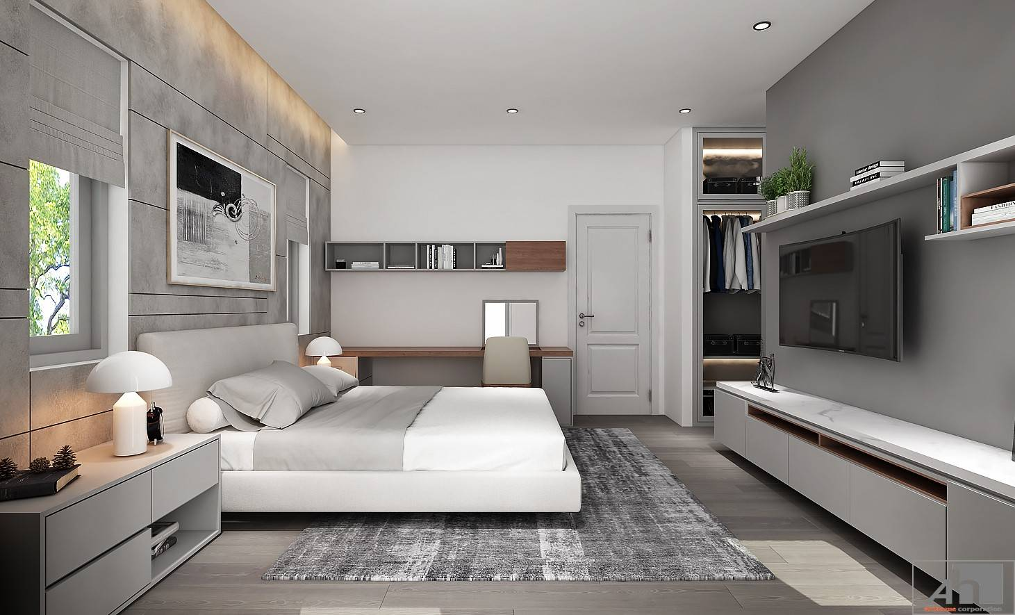 thiết kế nội thất nhà vườn quận 2