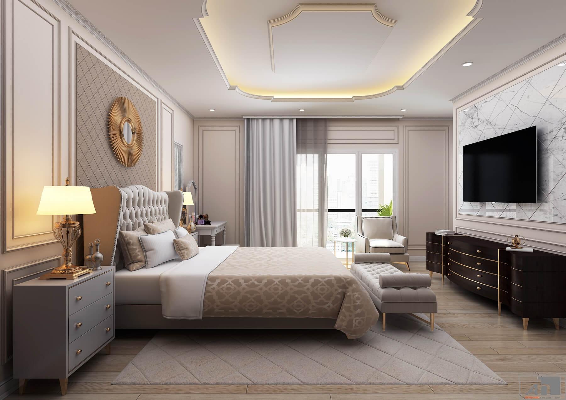 thiết kế nội thất nhà phố 250m2