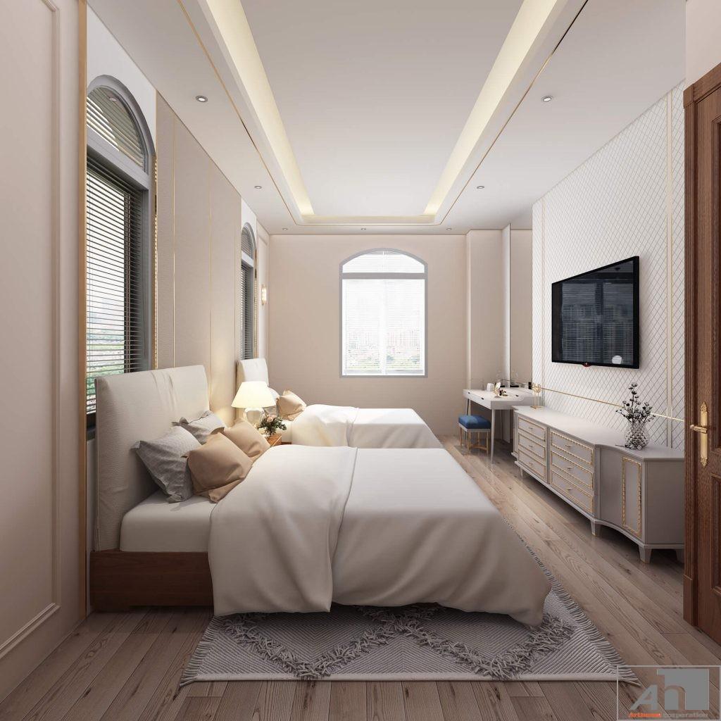 thiết kế thi công nội thất biệt thự victoria quận 2