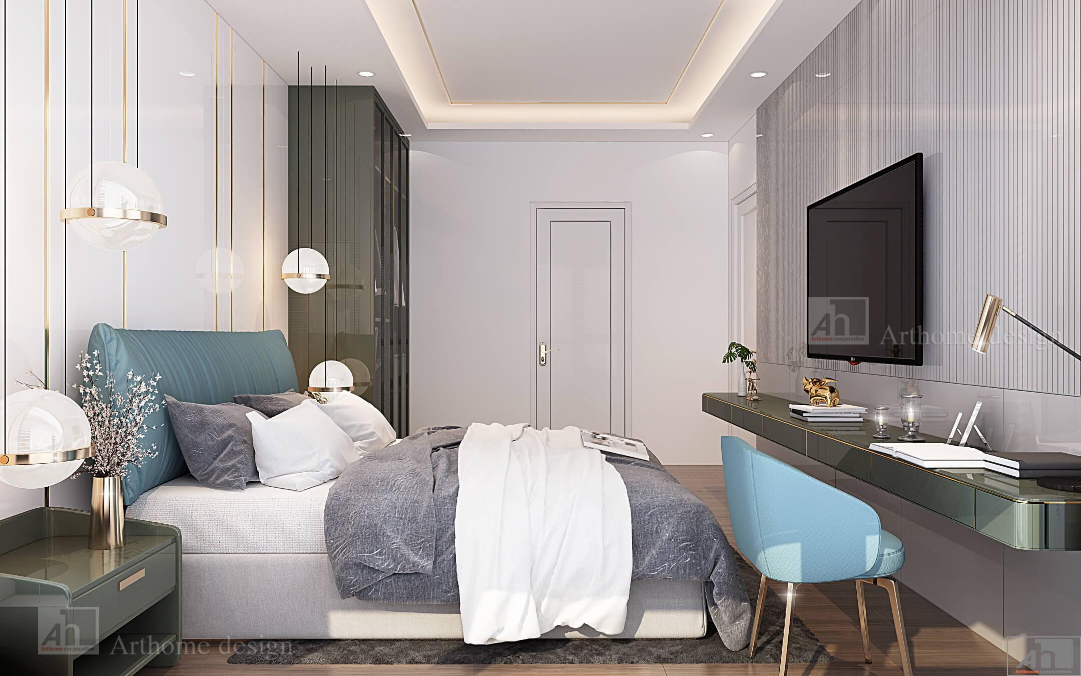 thiết kế thi công nội thất Chung cu Feliz En Vista Q2 115 m2